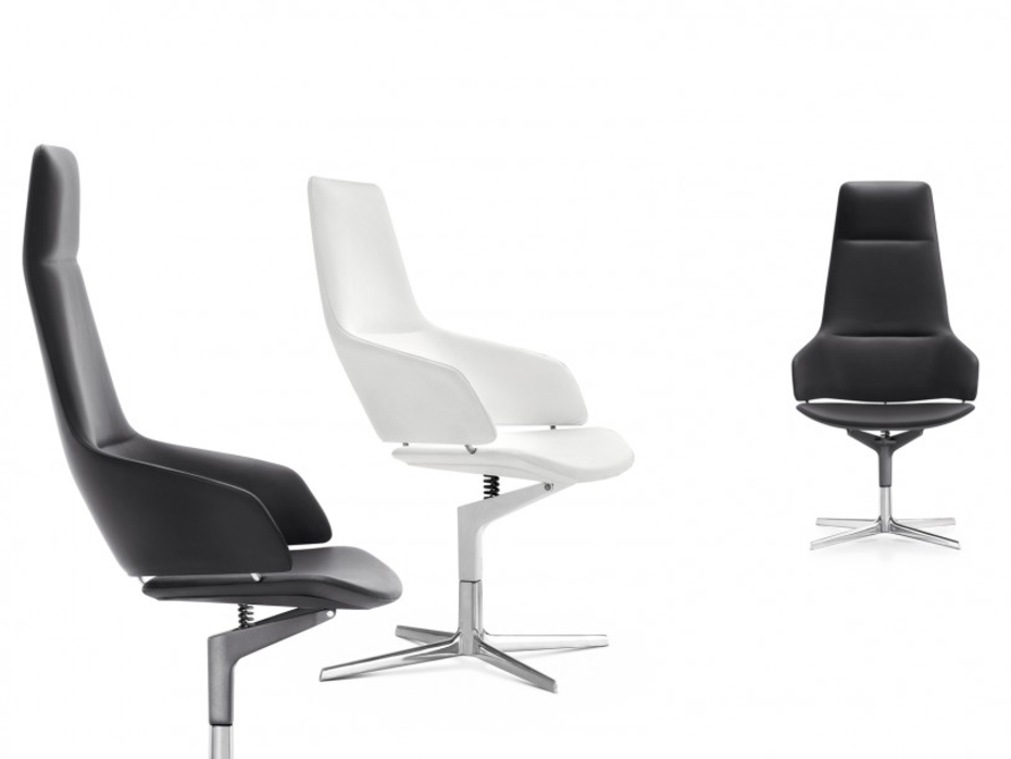 Aston Executive Chair By Arper Italia Very Elegant And