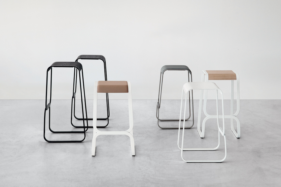 Barstool Continuum By Lapalma Design Fabio Bortolani