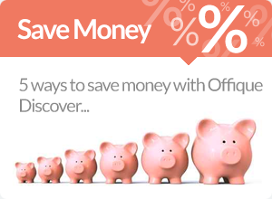 save money: discounts